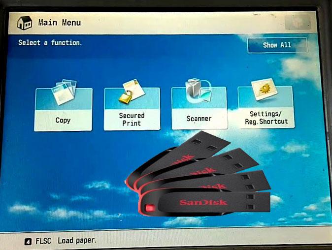 Cara Menyimpan File Dari Mesin Fotocopy ke Flasdisk - CENTRAL ...