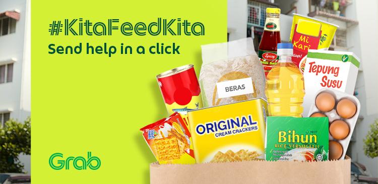 #KitaFeedKita - Grab menyatukan rakyat Malaysia untuk menghulurkan bantuan