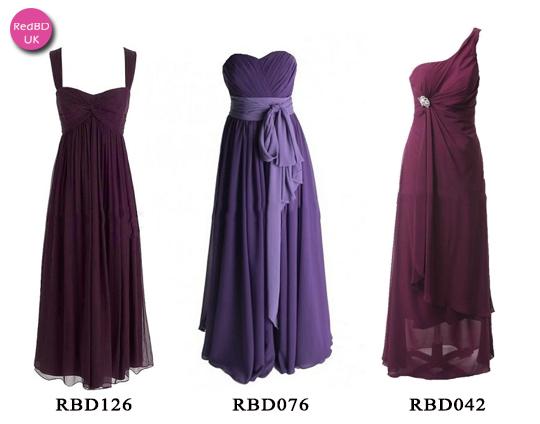 More plum long maternity bridesmaid dresses in RedBD