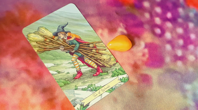 10 of Wands Everyday Witch Tarot