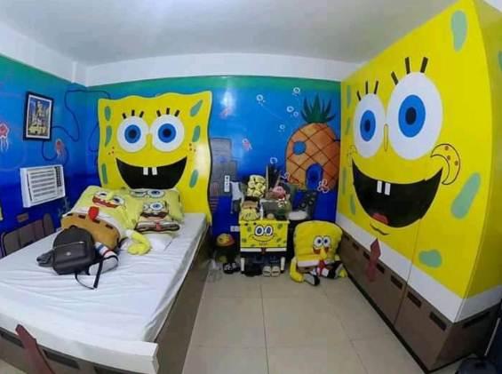 Kamar rumah minimalis 1 Lantai untuk anak laki