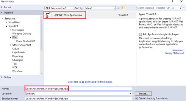 Partial View through Ajax Request MVC |  net tips and tricks