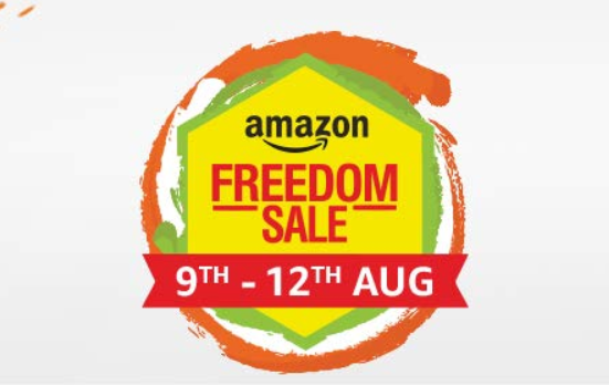 Amazon freedom sale 09 -12 Aug, huge discounts promises on smartphone, electronics and on clothing's