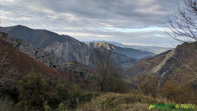 Vista de Vis desde la zona de Cuerries
