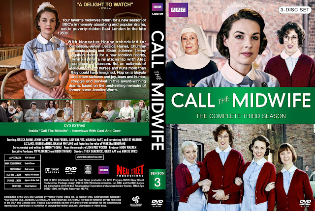 Call The Midwife Season 3 DVD Cover