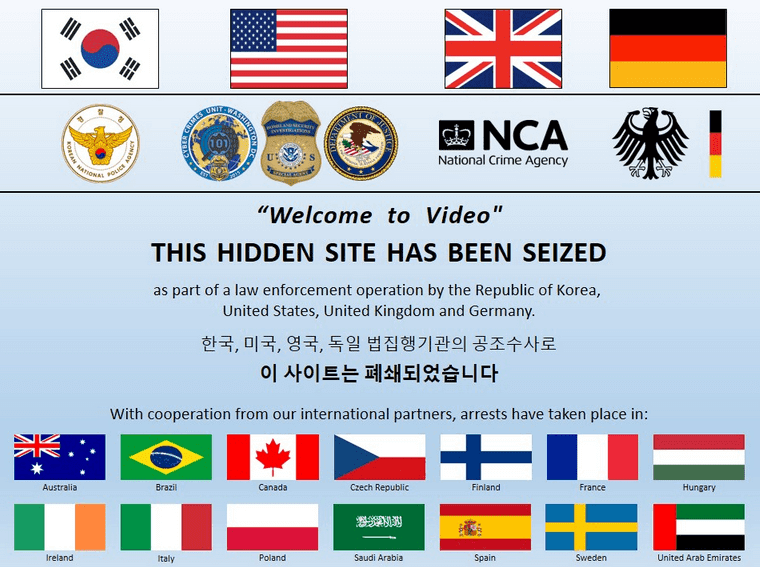 Authorities Shut down the Worlds Largest Darknet Child Sex Website That Contains 250,000 Unique Videos