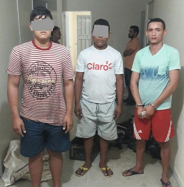 Quatro pessoas são presas por envolvimento com desmanche de motos em Pau dos Ferros