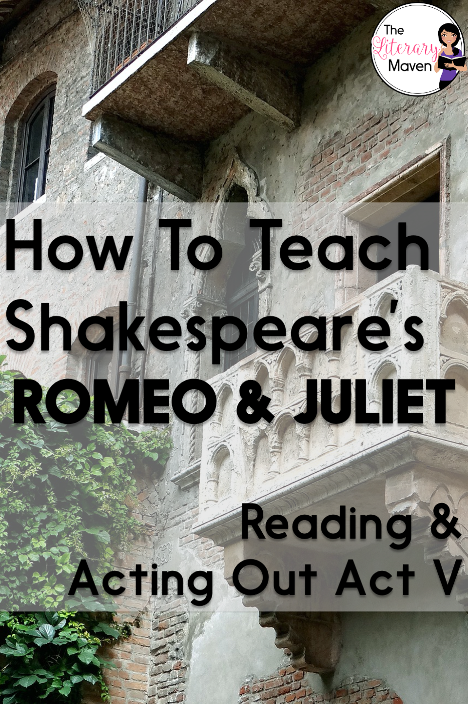 Whether you are a teacher tackling William Shakespeare's play Romeo and Juliet for the first time or you are a veteran looking to change how you've taught it in the past, it is always helpful to find out how another teacher plans it all out. Read on to find out what scenes I focus on in Act V and why, how my students read and act out those scenes, and what activities I use to extend learning and make connections.