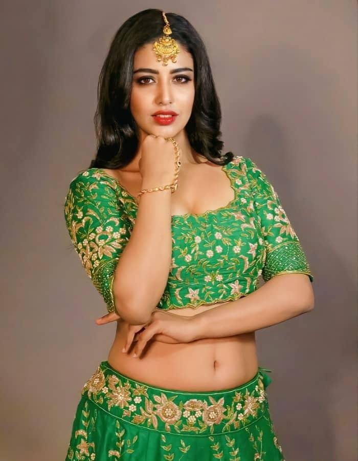 Daksha Nagarkar Hot Navel Pics Photos Stills 5