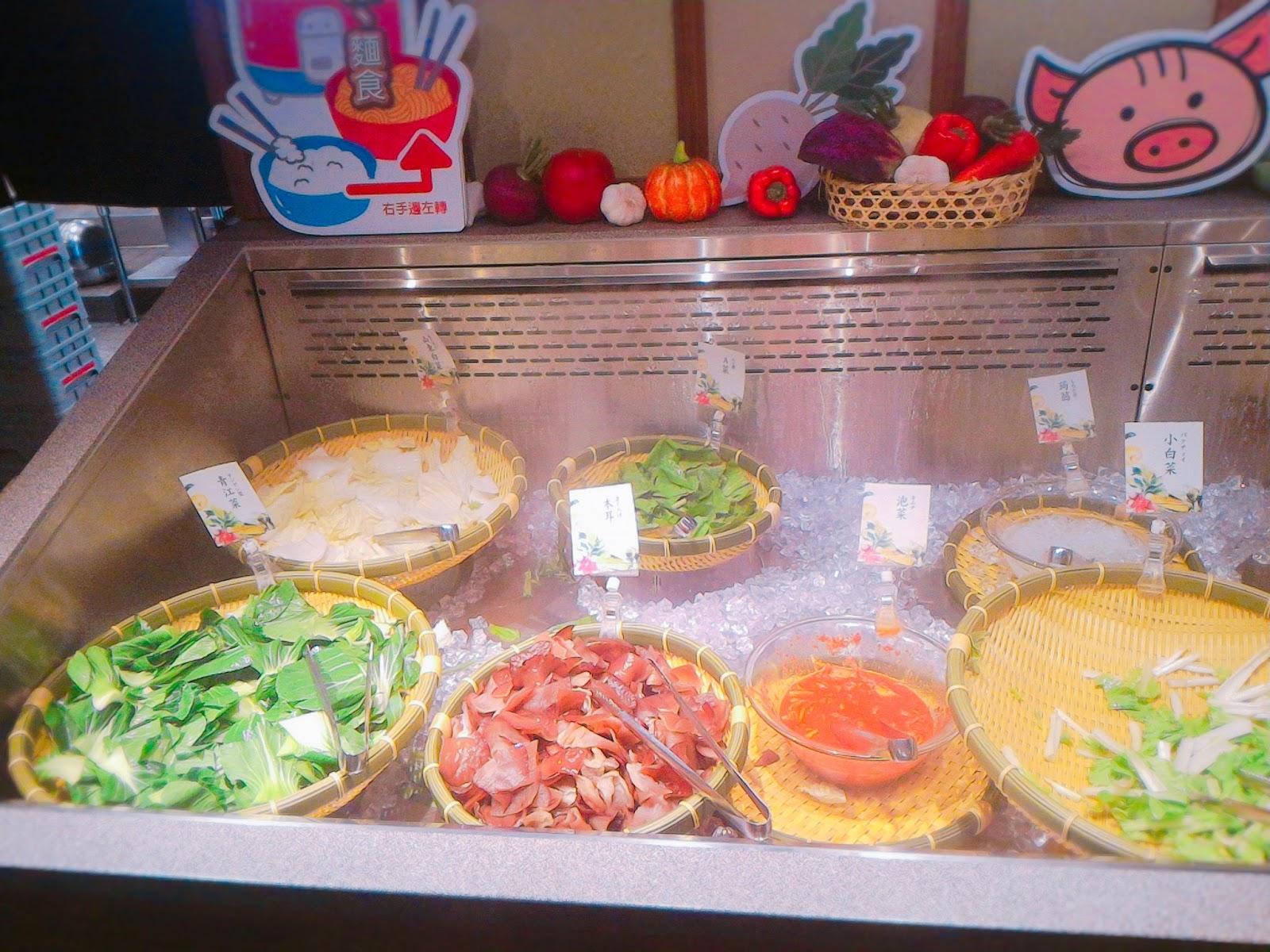 2016 10 16 19 33 36 - 【台南東區】涮乃葉吃到飽日式涮涮鍋 - 新鮮蔬菜與手工拉麵,還有超濃郁的霜淇淋!