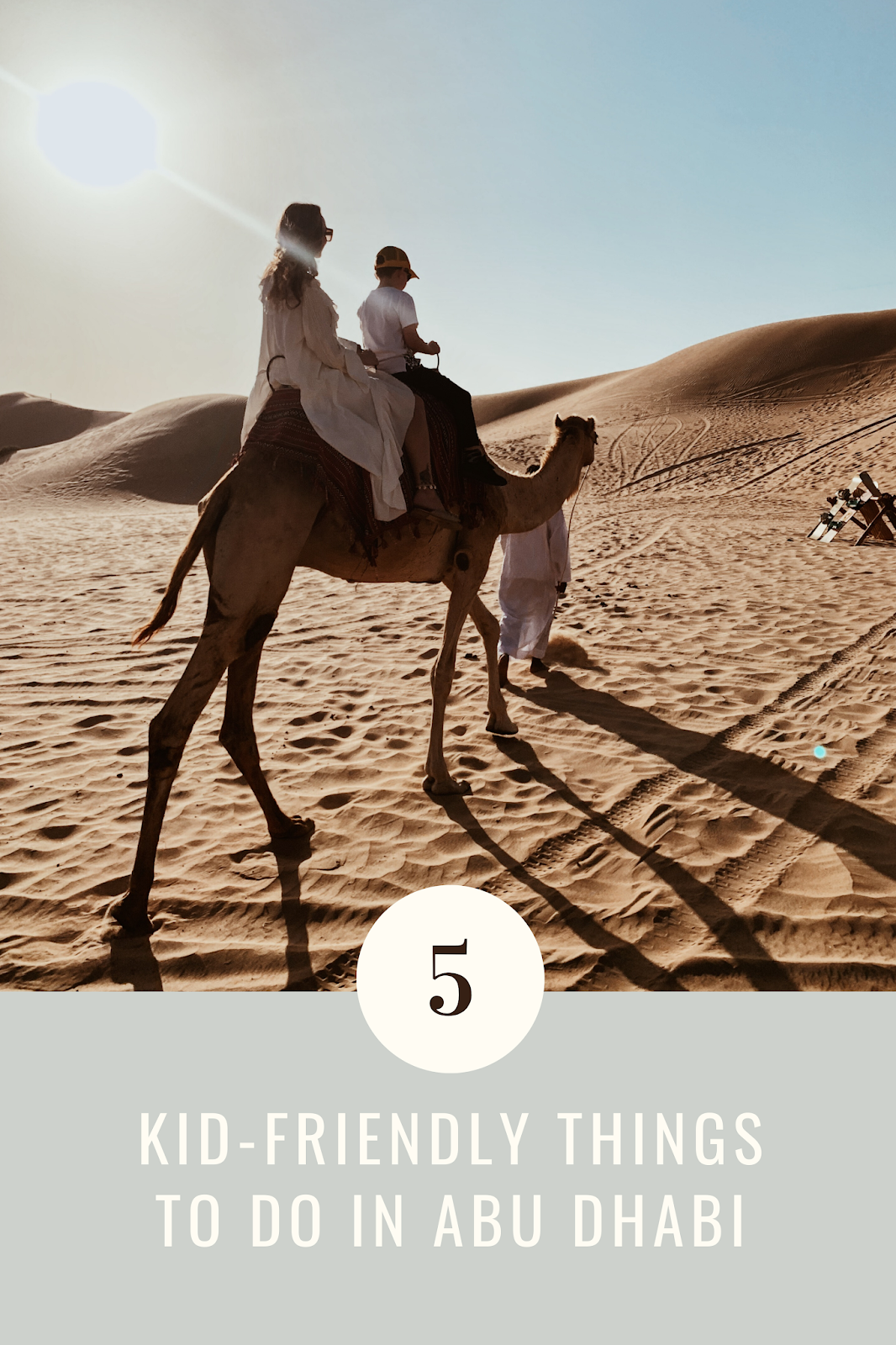 things to do in abu dhabi with kids