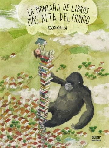 recomendación libros infantiles Dia del libro, montaña libros