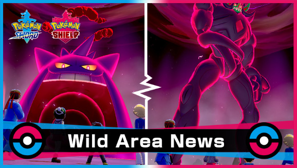 Pokémon Sword Shield Evento Wild Area