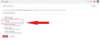 Cara Mendapatkan Kode Verifikasi Google Webmaster