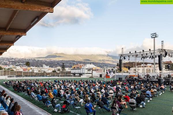 Coque Malla inaugura en Los Llanos el primer concierto al aire libre tras la pandemia