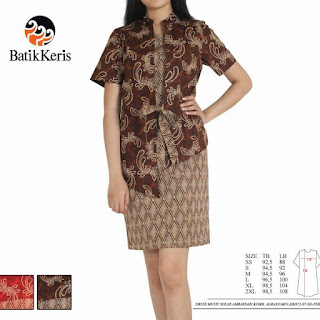 model sackdress batik 2018