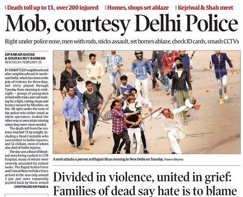 Delhi killings: Can communal violence, orchestrated riots, anti-Muslim pogroms ever be stopped in India?