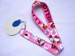 kalung id card hello kitty