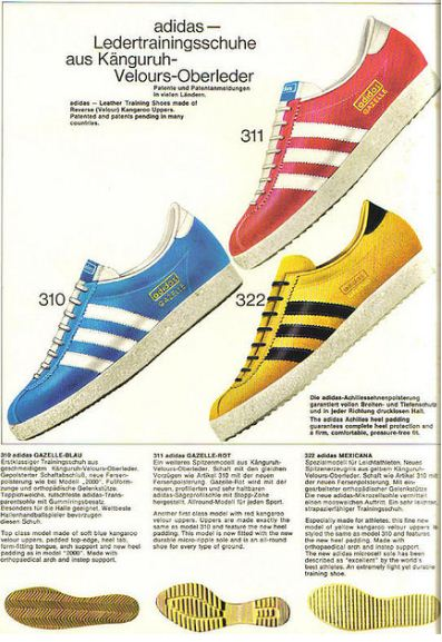 German Adidas Catalogue 1968 – Voices of East Anglia