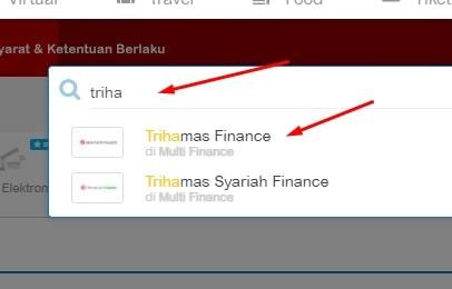 cek angsuran trihamas finance secara online