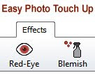 Easy Red-Eye Removal and Photo Touch Up Software