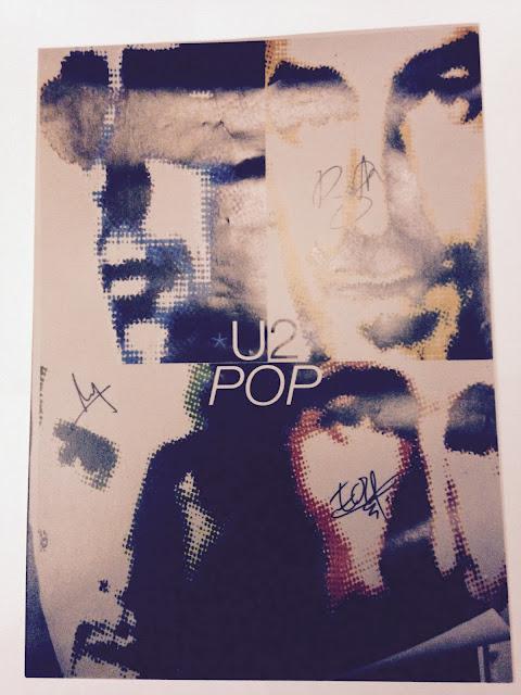 my U2 autographs - Meine U2-Autogramme