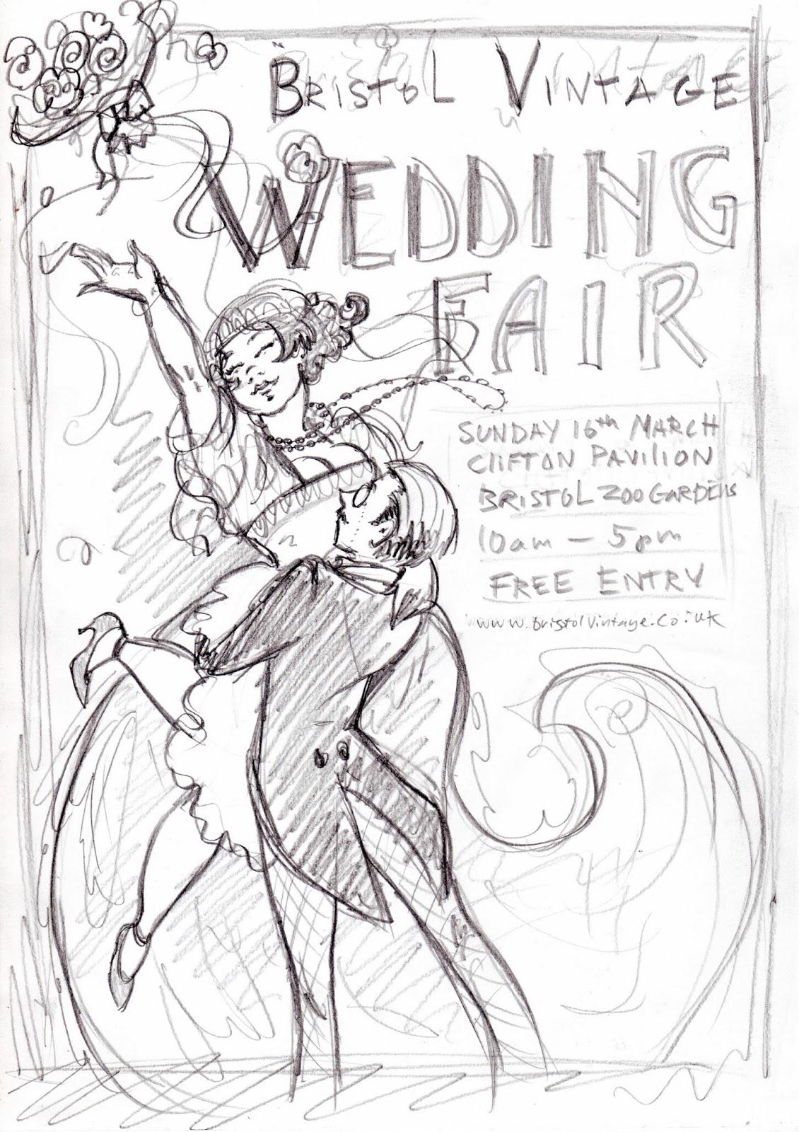 Bristol Vintage Wedding Fair Moomie Swan