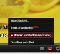 Sottotitoli su Youtube