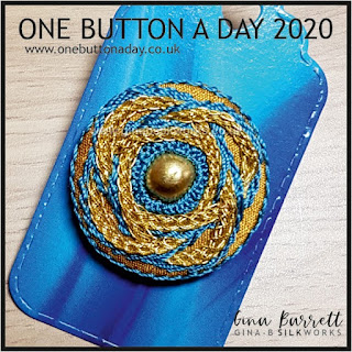 One Button a Day 2020 by Gina Barrett - Day 71: Kismet
