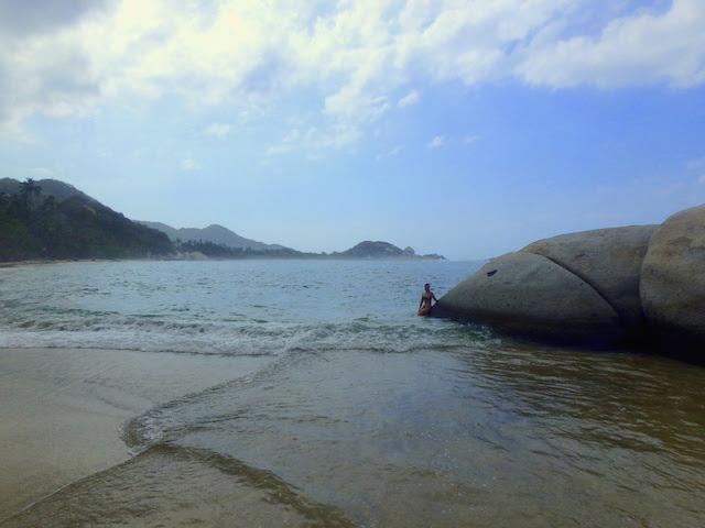 La Piscina beach in Tayrona National Park, Colombia