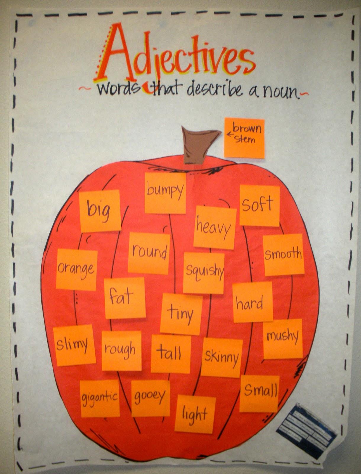 Pumpkin writing activity for first grade