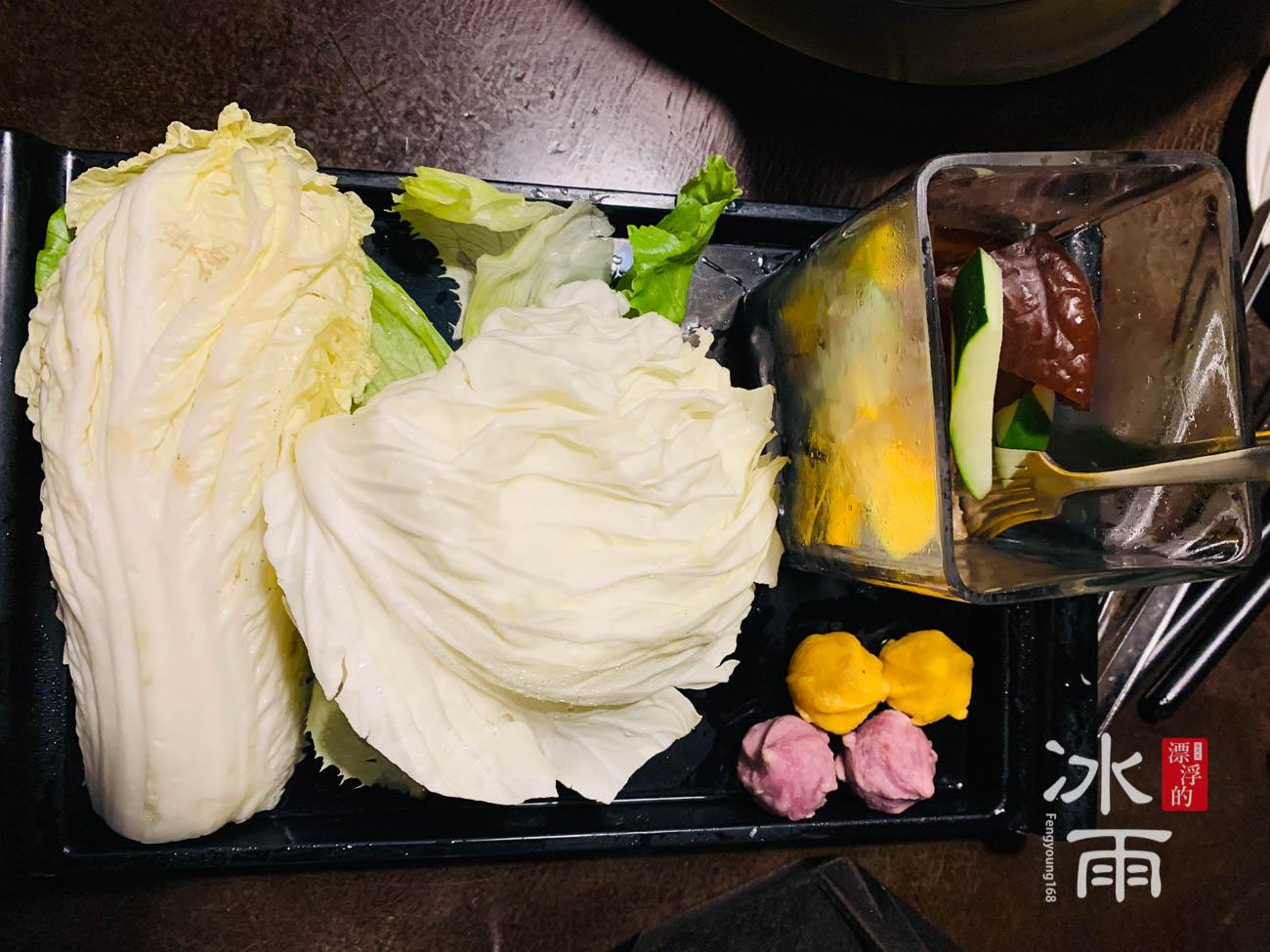 無老鍋|台北中山店|蔬菜盤