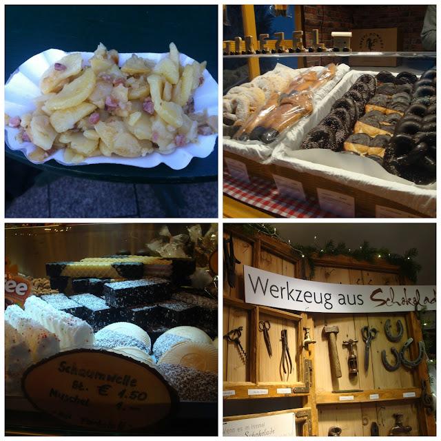 Comidas típicas de feiras de Natal na Alemanha