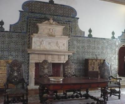 Sala das pegas palacio nacional Sintra