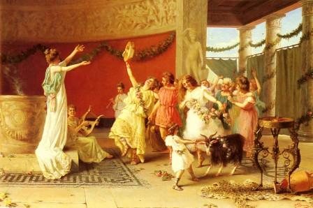 Como era a dança no Império Romano