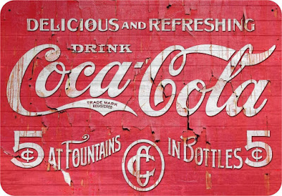Coca-Cola reclamebord
