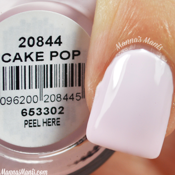 Orly Sugar High Cake Pop swatches