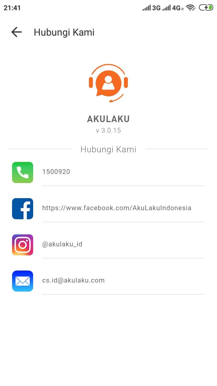 Call Center Customer Service Akulaku Bebas Pulsa 24 Jam Terbaru Ypramedia Com