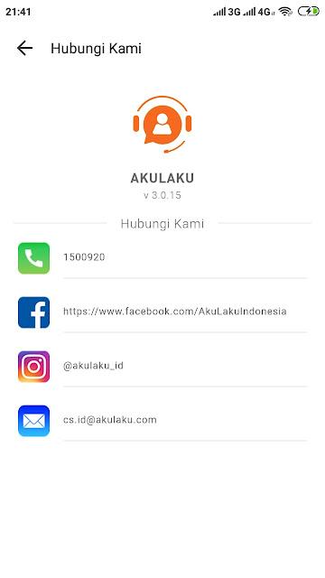 Call Center Customer Service Akulaku Bebas Pulsa 24 Jam Terbaru