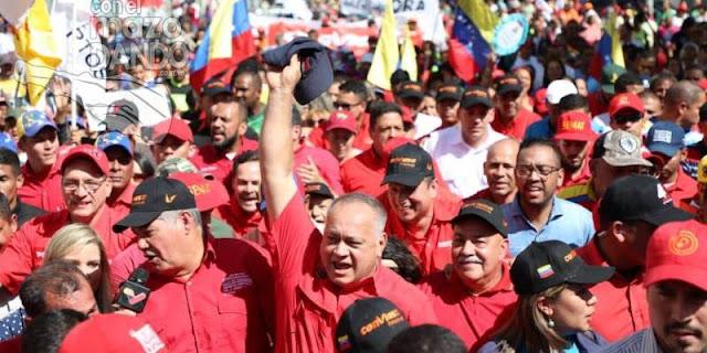 """Diosdado dice que """"no va a pasar nada"""" cuando vuelva Guaidó"""
