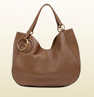 55d36e323 GUCCI TWILL MAPLE BROWN LEATHER SHOULDER BAG