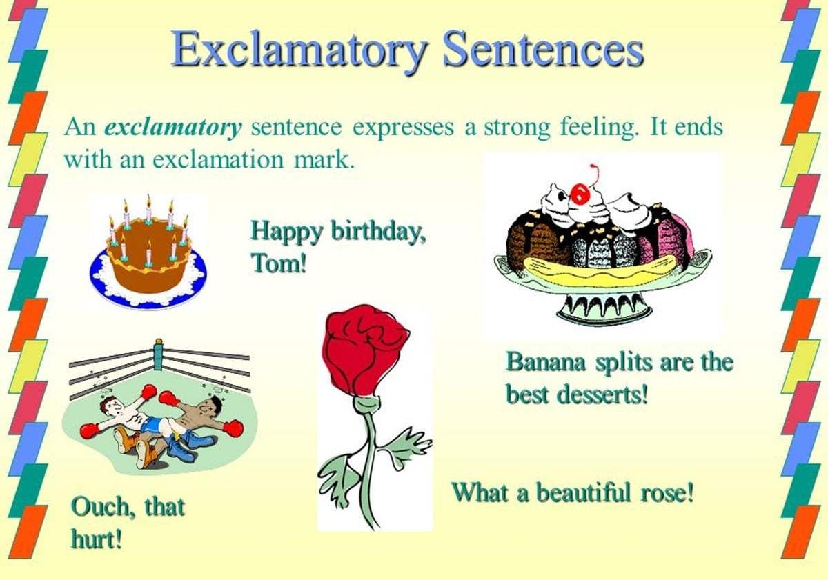 What Is A Exclamatory Sentence