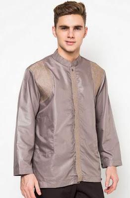 Baju muslim lebaran pria modis desain terbaru