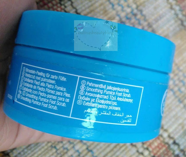Review The Bpdy Shop Smoothing Pumice Foot Scrub