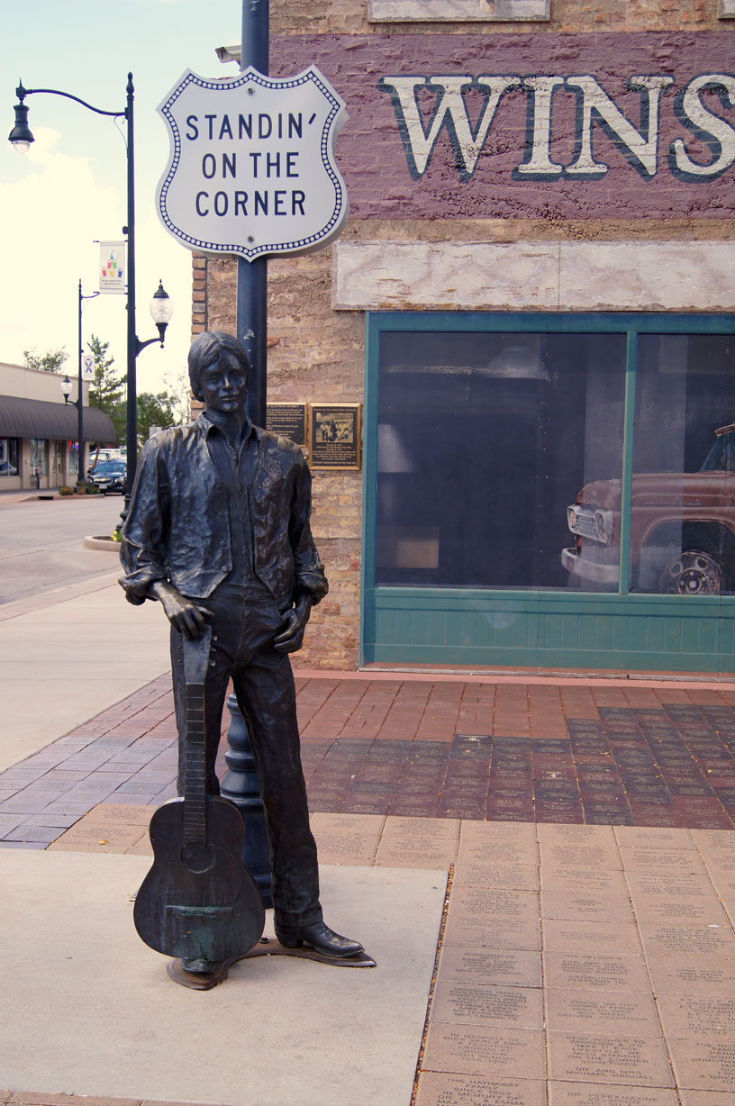 prescott area daily photo standing on the corner in winslow arizona. Black Bedroom Furniture Sets. Home Design Ideas