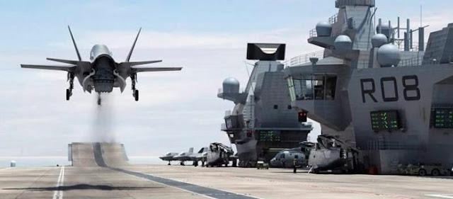 Έλληνας test-pilot πετάει το απίστευτο F-35C στο αεροπλανοφόρο USS Abraham Lincoln (VIDEO)