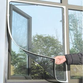 إكـتشــفي Ek أداة ممتازة لمنع دخول البعوض و الحشرات من النوافذ المفتوحة