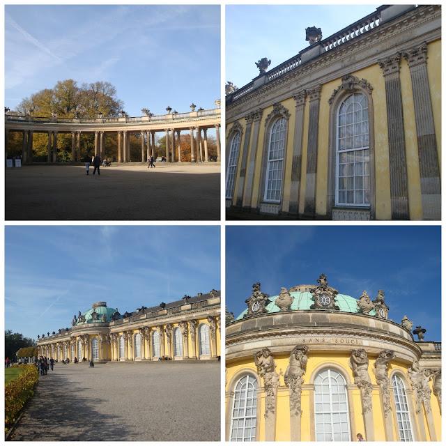Schloss Sanssouci em Potsdam
