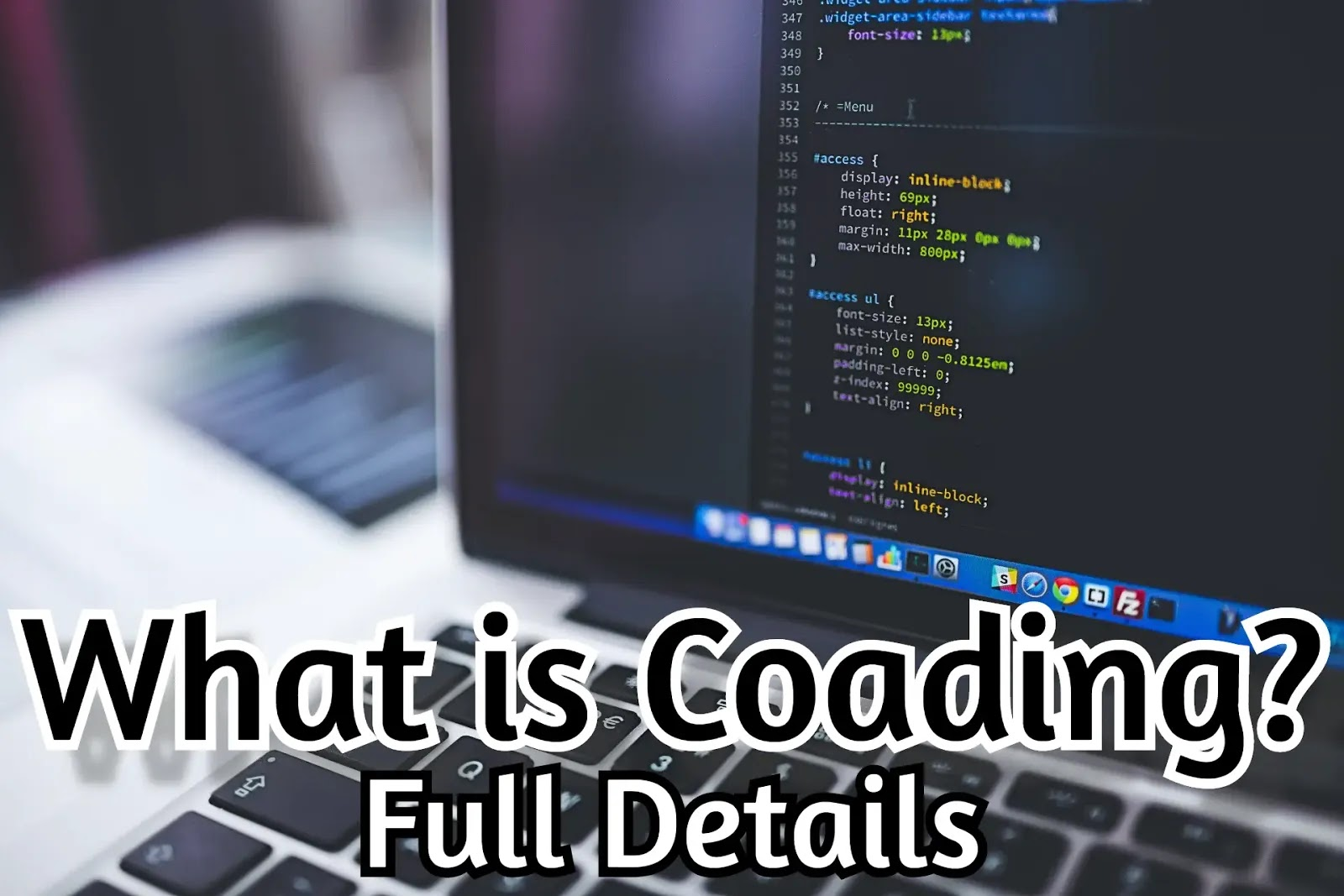 What is Coding? Full Details! 2020
