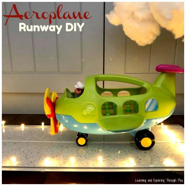 Aeroplane Runway DIY
